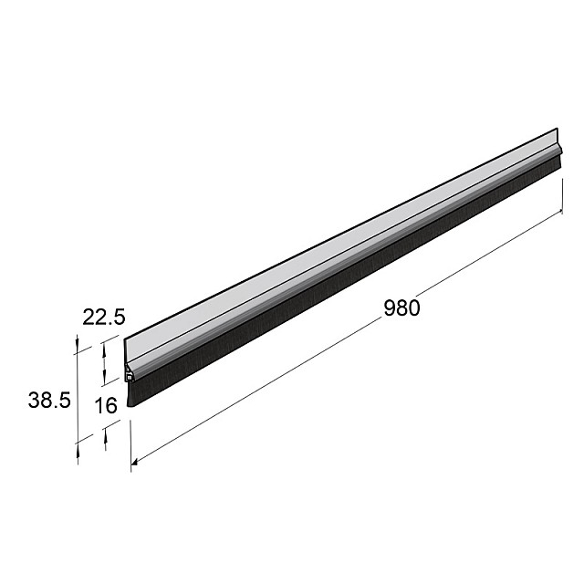 ADHESIVE EXTERNAL WINDBREAK PLASTIC PANEL, TRANSPARENT MATERIAL 100